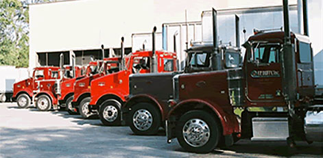 Our Fleet of Trucks for Used Boxes